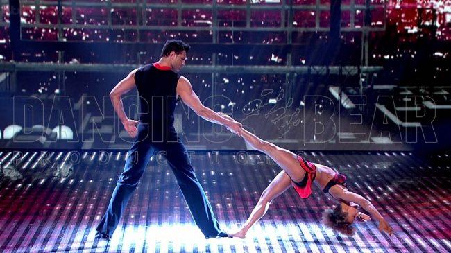 Acrobatic Dance Duet
