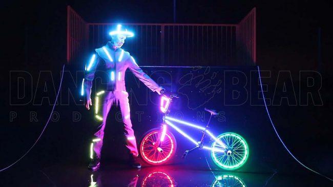 Led BMX Showact