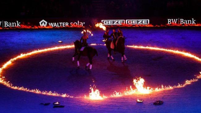 Tanzende Pferde Showact