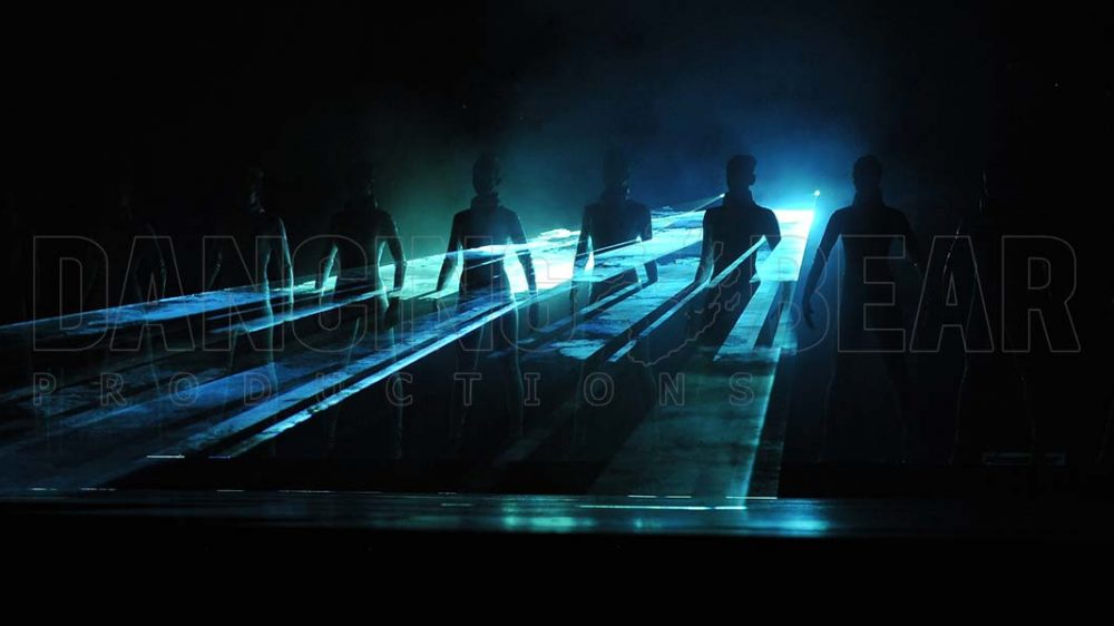 Laser Dance Performance Showact